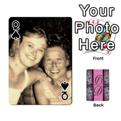 Queen Dede Deck By Julie Wilber   Playing Cards 54 Designs   Pqgb3na4cmsr   Www Artscow Com Front - SpadeQ