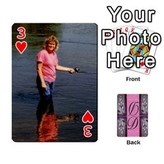 Dede Deck By Julie Wilber   Playing Cards 54 Designs   Pqgb3na4cmsr   Www Artscow Com Front - Heart3
