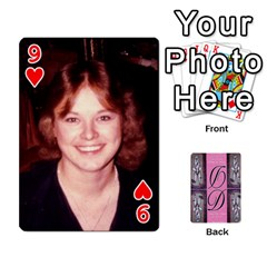 Dede Deck By Julie Wilber   Playing Cards 54 Designs   Pqgb3na4cmsr   Www Artscow Com Front - Heart9