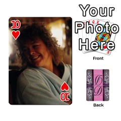 Dede Deck By Julie Wilber   Playing Cards 54 Designs   Pqgb3na4cmsr   Www Artscow Com Front - Heart10
