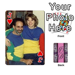 Jack Dede Deck By Julie Wilber   Playing Cards 54 Designs   Pqgb3na4cmsr   Www Artscow Com Front - HeartJ