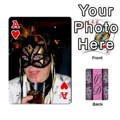 Ace Dede Deck By Julie Wilber   Playing Cards 54 Designs   Pqgb3na4cmsr   Www Artscow Com Front - HeartA