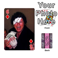 Dede Deck By Julie Wilber   Playing Cards 54 Designs   Pqgb3na4cmsr   Www Artscow Com Front - Diamond6