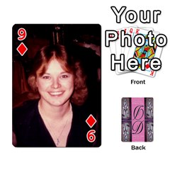 Dede Deck By Julie Wilber   Playing Cards 54 Designs   Pqgb3na4cmsr   Www Artscow Com Front - Diamond9