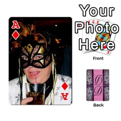 Ace Dede Deck By Julie Wilber   Playing Cards 54 Designs   Pqgb3na4cmsr   Www Artscow Com Front - DiamondA