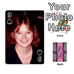Dede Deck By Julie Wilber   Playing Cards 54 Designs   Pqgb3na4cmsr   Www Artscow Com Front - Spade9