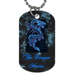 rj - Dog Tag (One Side)