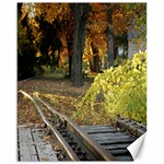 Fall Railroad 20x16 canvas - Canvas 16  x 20