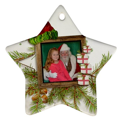 Kylie s Ornament By Kellie Simpson   Ornament (star)   Xf68au4zzc2c   Www Artscow Com Front