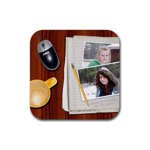 Square Rubber Coaster By Kellie Simpson   Rubber Coaster (square)   Dbgw7ooy73pr   Www Artscow Com Front