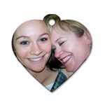 MOTHER & DAUGHTER - Dog Tag Heart (Two Sides)