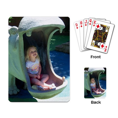 Cady Cards By Gretchen Probst   Playing Cards Single Design   G7u6hozvo4wg   Www Artscow Com Back