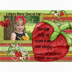 Birthday Card 2 By Angie Banet   5  X 7  Photo Cards   586ofa4x3koc   Www Artscow Com 7 x5 Photo Card - 23