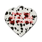 RCDR tag - Dog Tag Heart (Two Sides)