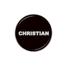Christian Name Monogram Hat Clip Ball Marker (4 pack) by MonogramStore