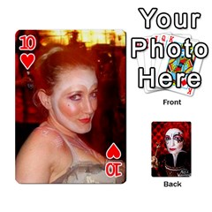 Jesselynn s Birthday Cards! By Sheila O donnell   Playing Cards 54 Designs   3s4lag938njv   Www Artscow Com Front - Heart10