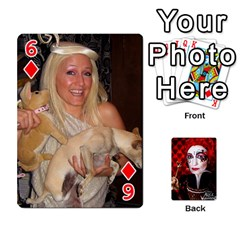 Jesselynn s Birthday Cards! By Sheila O donnell   Playing Cards 54 Designs   3s4lag938njv   Www Artscow Com Front - Diamond6