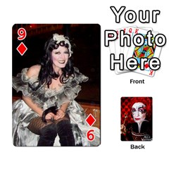 Jesselynn s Birthday Cards! By Sheila O donnell   Playing Cards 54 Designs   3s4lag938njv   Www Artscow Com Front - Diamond9