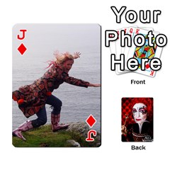 Jack Jesselynn s Birthday Cards! By Sheila O donnell   Playing Cards 54 Designs   3s4lag938njv   Www Artscow Com Front - DiamondJ