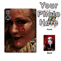 Jesselynn s Birthday Cards! By Sheila O donnell   Playing Cards 54 Designs   3s4lag938njv   Www Artscow Com Front - Club6