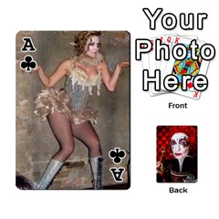 Ace Jesselynn s Birthday Cards! By Sheila O donnell   Playing Cards 54 Designs   3s4lag938njv   Www Artscow Com Front - ClubA