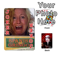 Jesselynn s Birthday Cards! By Sheila O donnell   Playing Cards 54 Designs   3s4lag938njv   Www Artscow Com Front - Joker2