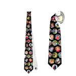 GreatGrand Kids Tie for Big Papa - Necktie (Two Side)