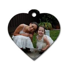 New One By Ariela   Dog Tag Heart (two Sides)   F28l9u1qtfqv   Www Artscow Com Front