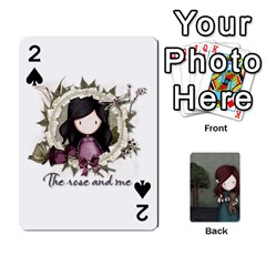 Gorjuss Playing Cards By Kellie Simpson   Playing Cards 54 Designs   Isyrn0on42ut   Www Artscow Com Front - Spade2