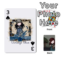 Gorjuss Playing Cards By Kellie Simpson   Playing Cards 54 Designs   Isyrn0on42ut   Www Artscow Com Front - Spade3