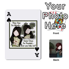 Ace Gorjuss Playing Cards By Kellie Simpson   Playing Cards 54 Designs   Isyrn0on42ut   Www Artscow Com Front - SpadeA
