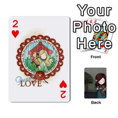 Gorjuss Playing Cards By Kellie Simpson   Playing Cards 54 Designs   Isyrn0on42ut   Www Artscow Com Front - Heart2