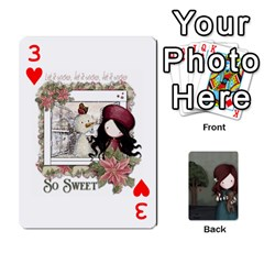 Gorjuss Playing Cards By Kellie Simpson   Playing Cards 54 Designs   Isyrn0on42ut   Www Artscow Com Front - Heart3