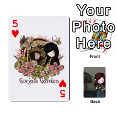 Gorjuss Playing Cards By Kellie Simpson   Playing Cards 54 Designs   Isyrn0on42ut   Www Artscow Com Front - Heart5