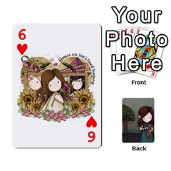 Gorjuss Playing Cards By Kellie Simpson   Playing Cards 54 Designs   Isyrn0on42ut   Www Artscow Com Front - Heart6