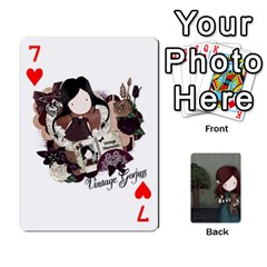Gorjuss Playing Cards By Kellie Simpson   Playing Cards 54 Designs   Isyrn0on42ut   Www Artscow Com Front - Heart7