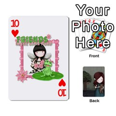Gorjuss Playing Cards By Kellie Simpson   Playing Cards 54 Designs   Isyrn0on42ut   Www Artscow Com Front - Heart10
