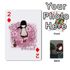 Gorjuss Playing Cards By Kellie Simpson   Playing Cards 54 Designs   Isyrn0on42ut   Www Artscow Com Front - Diamond2