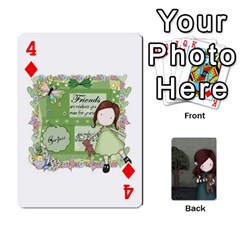 Gorjuss Playing Cards By Kellie Simpson   Playing Cards 54 Designs   Isyrn0on42ut   Www Artscow Com Front - Diamond4