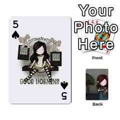 Gorjuss Playing Cards By Kellie Simpson   Playing Cards 54 Designs   Isyrn0on42ut   Www Artscow Com Front - Spade5