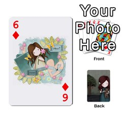 Gorjuss Playing Cards By Kellie Simpson   Playing Cards 54 Designs   Isyrn0on42ut   Www Artscow Com Front - Diamond6