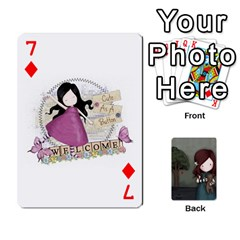 Gorjuss Playing Cards By Kellie Simpson   Playing Cards 54 Designs   Isyrn0on42ut   Www Artscow Com Front - Diamond7
