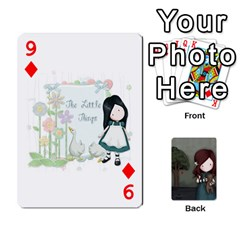 Gorjuss Playing Cards By Kellie Simpson   Playing Cards 54 Designs   Isyrn0on42ut   Www Artscow Com Front - Diamond9