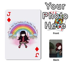 Jack Gorjuss Playing Cards By Kellie Simpson   Playing Cards 54 Designs   Isyrn0on42ut   Www Artscow Com Front - DiamondJ