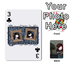 Gorjuss Playing Cards By Kellie Simpson   Playing Cards 54 Designs   Isyrn0on42ut   Www Artscow Com Front - Club3