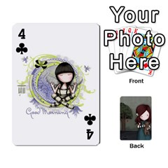 Gorjuss Playing Cards By Kellie Simpson   Playing Cards 54 Designs   Isyrn0on42ut   Www Artscow Com Front - Club4