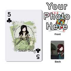 Gorjuss Playing Cards By Kellie Simpson   Playing Cards 54 Designs   Isyrn0on42ut   Www Artscow Com Front - Club5