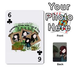 Gorjuss Playing Cards By Kellie Simpson   Playing Cards 54 Designs   Isyrn0on42ut   Www Artscow Com Front - Club6