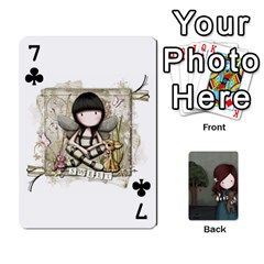 Gorjuss Playing Cards By Kellie Simpson   Playing Cards 54 Designs   Isyrn0on42ut   Www Artscow Com Front - Club7