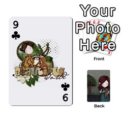 Gorjuss Playing Cards By Kellie Simpson   Playing Cards 54 Designs   Isyrn0on42ut   Www Artscow Com Front - Club9